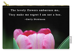 Carry-all Pouch featuring the photograph If I Were A Bee by Dale Kincaid