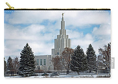 If Temple After Snow Carry-all Pouch