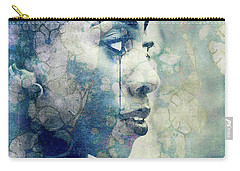Carry-all Pouch featuring the digital art If You Leave Me Now  by Paul Lovering