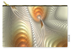 Carry-all Pouch featuring the digital art Ignis Fatuus by Anastasiya Malakhova