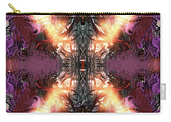 Carry-all Pouch featuring the digital art Ignition by Reed Novotny
