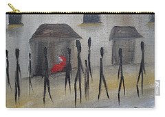 Ignoring The Homeless Carry-all Pouch by Judith Rhue