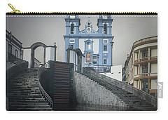 Carry-all Pouch featuring the photograph Igreja Da Misericordia De Angra Do Heroismo by Kelly Hazel