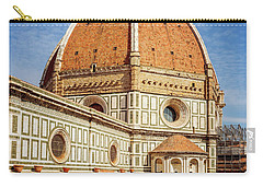 Carry-all Pouch featuring the photograph Il Duomo Florence Italy by Joan Carroll