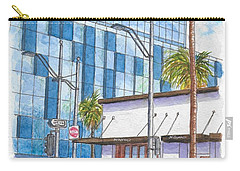 Il Fornaio In Beverly Hills, California Carry-all Pouch