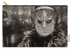 Carry-all Pouch featuring the digital art Il Gottico by Jack Torcello