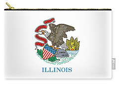 Illinois State Flag Carry-all Pouch by American School