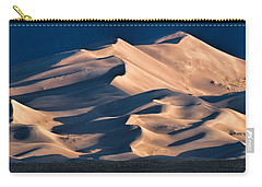 Illuminated Sand Dunes Carry-all Pouch by Alana Thrower