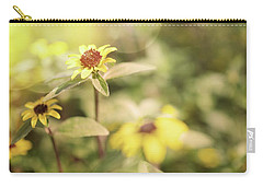 Illuminated Zinnia Carry-all Pouch