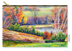 Illuminating Colors Of Fall Carry-all Pouch