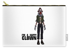 I'm A Happy Clown Carry-all Pouch
