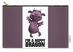 I'm A Happy Dragon Carry-all Pouch