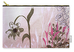 Carry-all Pouch featuring the painting I'm A Survivor by Robin Maria Pedrero