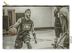 Carry-all Pouch featuring the photograph I'm Going By You by Ronald Santini
