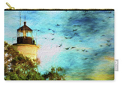 Carry-all Pouch featuring the photograph I'm Here To Watch You Soar II by Jan Amiss Photography