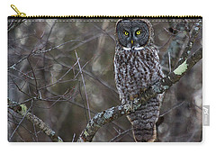 I'm Hungry- Great Gray Owl Carry-all Pouch