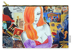 I'm Just Drawn That Way --v.2 -- Jessica Rabbit Portrait Carry-all Pouch
