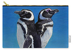 I'm Not Talking To You - Penguins Carry-all Pouch