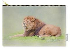 I'm The King Carry-all Pouch by Roy McPeak