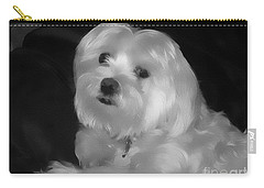 Carry-all Pouch featuring the digital art I'm The One For You by Kathy Tarochione
