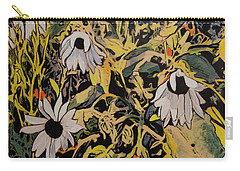 Carry-all Pouch featuring the painting Image From Ernie Lane by Ron Richard Baviello