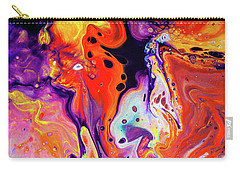 Imagination - Colorful Abstract Art Painting Carry-all Pouch