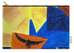 Carry-all Pouch featuring the painting Imagination by Maria Langgle
