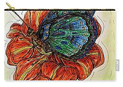 Imagine Butterflies A Carry-all Pouch