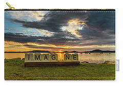 Imagine Sunrise Waterscape Over The Bay Carry-all Pouch