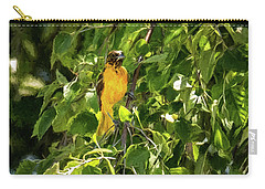 Immature Baltimore Oriole Carry-all Pouch