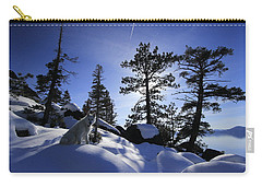 Carry-all Pouch featuring the photograph Immersed In Light And Shadow by Sean Sarsfield