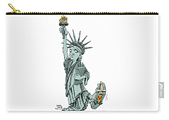 Immigration And Liberty Carry-all Pouch