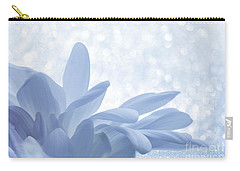 Carry-all Pouch featuring the digital art Immobility - Wh01t2c2 by Variance Collections