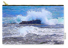Ocean Impact In Abstract 1 Carry-all Pouch