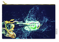 Impact - Pouring Photography Abstract Carry-all Pouch