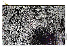 Carry-all Pouch featuring the mixed media Impact by Tony Rubino