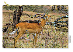 Impala On The Serengeti Carry-all Pouch