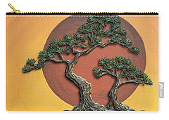 Impasto - Bonsai With Sun - One Carry-all Pouch