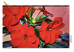 Impatience With Ladybug Carry-all Pouch by Diane Schuster