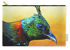 Impeyan Pheasant Carry-all Pouch by Suzanne Handel