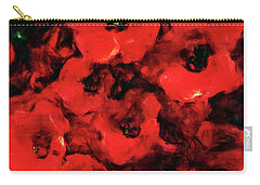 Impression Of Poppies Carry-all Pouch