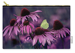 Impression With Purple Ehinacea Carry-all Pouch