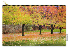 Impressionist Autumn Carry-all Pouch by Theresa Tahara