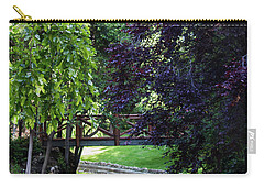 Carry-all Pouch featuring the photograph Impressionist Reminiscence  by Ana Mireles