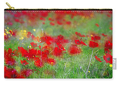 Impressionistic Blossom Near Shderot Carry-all Pouch