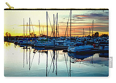 Impressions Of A San Diego Marina Carry-all Pouch by Glenn McCarthy Art and Photography