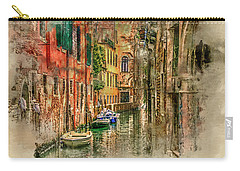Impressions Of Venice Carry-all Pouch by Brian Tarr