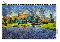 Impressions Of Zaanse Schans Carry-all Pouch