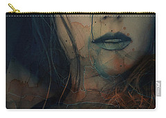 Carry-all Pouch featuring the mixed media In A Broken Dream  by Paul Lovering
