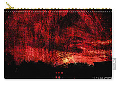 In A Red World Carry-all Pouch